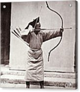 Manchu Archer, 1874 Acrylic Print