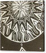 Mandala 001 Acrylic Print