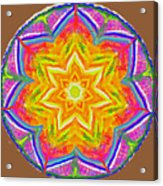 Mandala 12 20 2015 Acrylic Print