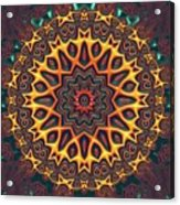 Mandala 574535675 Acrylic Print