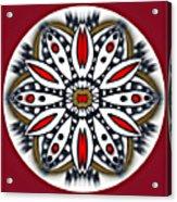 Mandala 66 Acrylic Print
