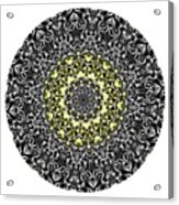 Mandala - Amulet 866 For Those Born In ..... Acrylic Print
