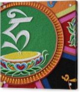 Mandala Hrih Acrylic Print