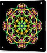 Mandala Image #14 Created On 2.26.2018 Acrylic Print
