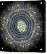 Mandala Movement Acrylic Print