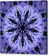 Mandala Ocean Wave Acrylic Print