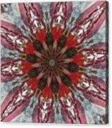 Mandala Of Glass Acrylic Print