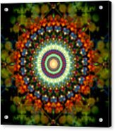 Mandala Of Loves Journey Acrylic Print