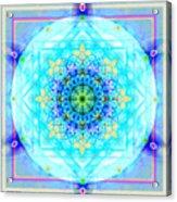 Mandala Of Womans Spiritual Genesis Acrylic Print