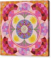 Mandala - Seeds Acrylic Print