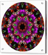 Mandala - Talisman 1100 - Order Your Talisman. Acrylic Print