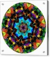 Mandala - Talisman 1101 - Order Your Talisman. Acrylic Print