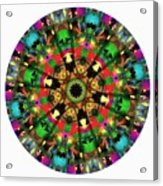 Mandala - Talisman 1104 - Order Your Talisman. Acrylic Print