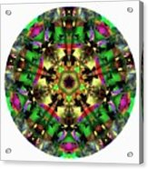 Mandala - Talisman 1107 - Order Your Talisman. Acrylic Print