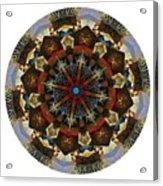 Mandala - Talisman 1123 - Order Your Talisman. Acrylic Print
