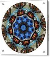 Mandala - Talisman 1124 - Order Your Talisman. Acrylic Print