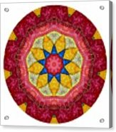 Mandala - Talisman 1404 Acrylic Print