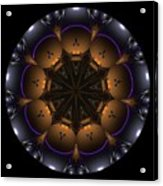 Mandala - Talisman 1431 Acrylic Print