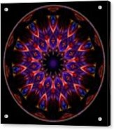 Mandala - Talisman 1449 Acrylic Print