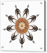 Mandala - Talisman 1630 Acrylic Print