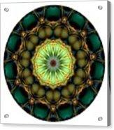 Mandala - Talisman 853 For Those Born In 1957 Acrylic Print