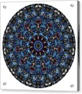 Mandala - Talisman 962 For Those Born In ..... Acrylic Print