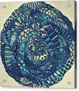 Mandala Tangled Digital Acrylic Print