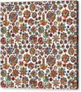Mandala Traditional Design Acrylic Print
