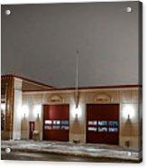 Mandan Fire Department Acrylic Print