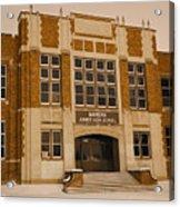 Mandan Jr High School 1 Acrylic Print