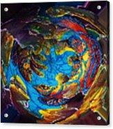 Mandarinfish Abyss Acrylic Print