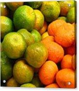 Mandarins And Tangerines Acrylic Print