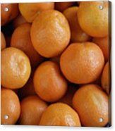Mandarins Acrylic Print