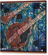 Mandolin - Bordered Acrylic Print