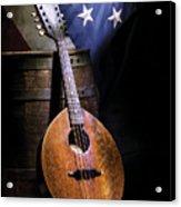 Mandolin America Acrylic Print by Barry C Donovan