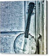 Mandolin Banjo In The Corner Acrylic Print