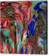 Mandolin Rain 2 Acrylic Print
