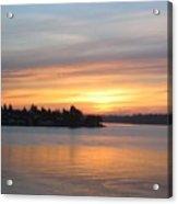 Manette Sunrise Acrylic Print