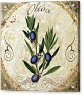 Mangia Olives Acrylic Print