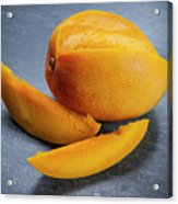 Mango And Slices Acrylic Print
