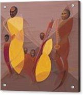 Mango Jazz Acrylic Print