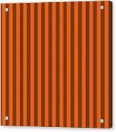 Mango Orange Striped Pattern Design Acrylic Print
