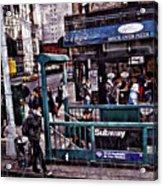 Manhattan 14th Street Acrylic Print