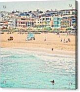 Manhattan Beach - Los Angeles, California Acrylic Print