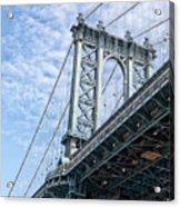 Manhattan Bridge 4 Acrylic Print
