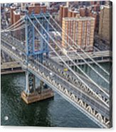 Manhattan Bridge  6413  Acrylic Print