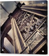 Manhattan Bridge From Below Acrylic Print