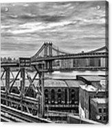Manhattan Bridge Acrylic Print