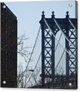 Manhattan Bridge Acrylic Print