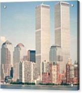 Manhattan Circa 1990 Acrylic Print